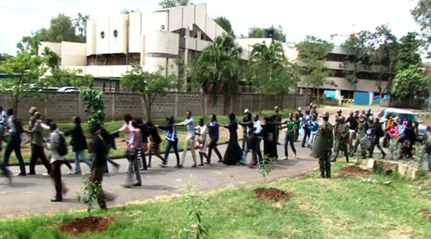 The students claim that the election was marred by malpractices with some accusing Owino of deploying dictatorial tendencies for him to remain at the helm/FILE