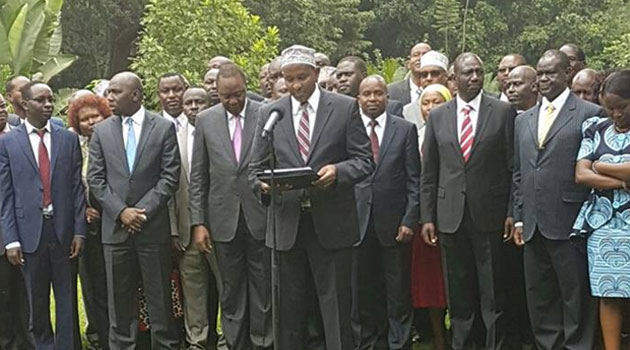On Friday, Jubilee said it was ready to trim its 11 members nominated to the committee to seven members as suggested by CORD/PSCU