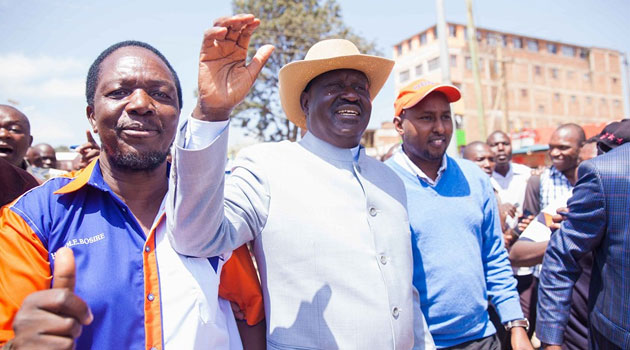 Speaking at Busia Stadium during a rally for MPs who were arrested over hate speech remarks, the CORD leader noted that ODM is a democratic party that is open to criticism/FILE