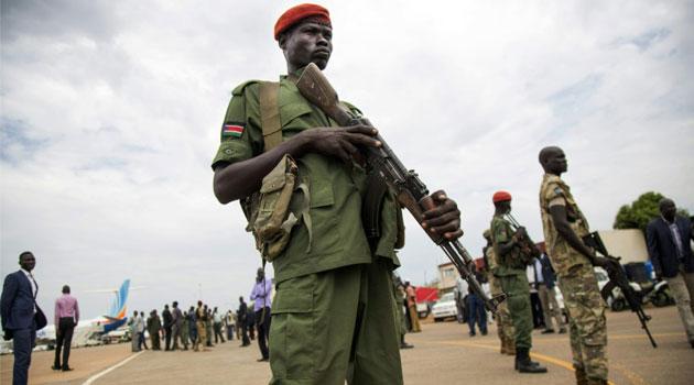 A spokesman for former rebel leader turned vice president Riek Machar blamed government troops/AFP