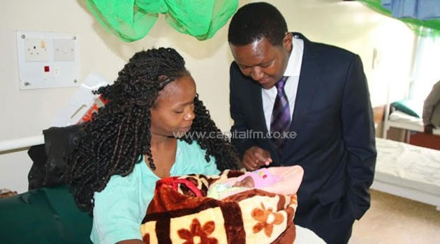 Mutua who made a surprise tour of the hospital said his government was committed to offering quality health care and will not compromise on offering the best services to the people/CORRESPONDENT