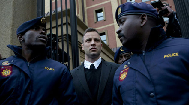 South African Paralympian Oscar Pistorius was freed from prison last October after serving one year of a five-year term for culpable homicide, the equivalent of manslaughter/AFP