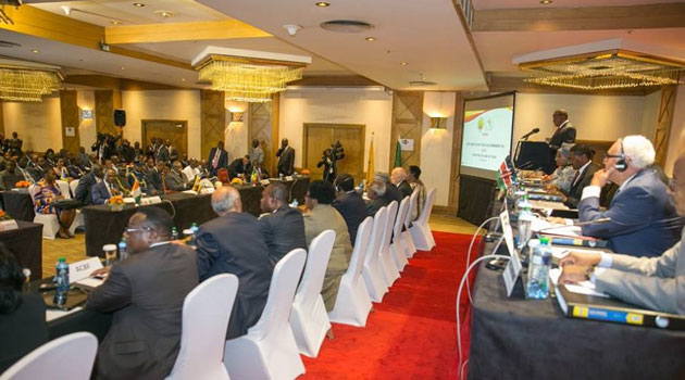 """""""At this meeting, in this venue, I ask you to re-commit yourselves to providing the leadership that Africans deserve,"""" said the President/PSCU"""