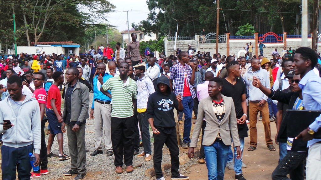 3 students, guards sustain bullet injuries as police disperse protesting MMU students