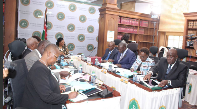 The JSC is expected to recommend to President Uhuru Kenyatta one suitable candidate for appointment after ticking off the strengths and weaknesses displayed during the interviews/CFM NEWS