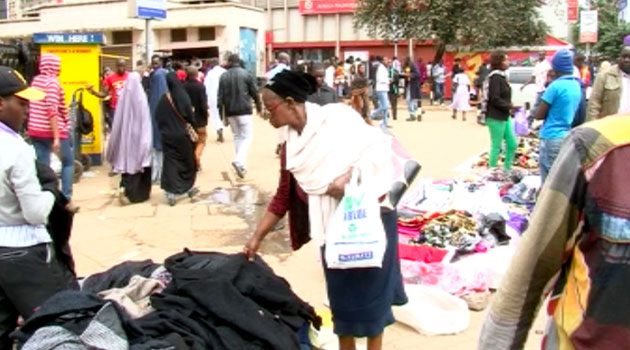 Collins Oneko from the Thirdway Alliance Party said the County Government has often played politics in accommodating the hawkers without offering them tangible, durable and acceptable options and solutions to their plight/FILE