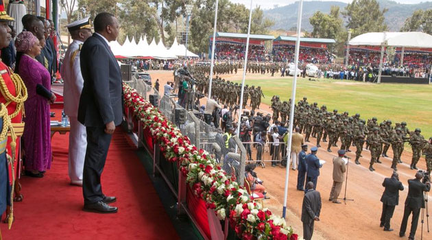 Addressing Kenyans during the Mashujaa Day celebrations at Machakos, the President has pointed out that there is now enough space to jail those found culpable of engaging in corruption/PSCU