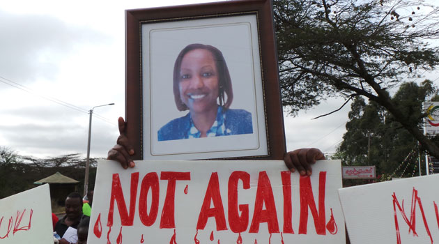 The accident led to protests that paralysed transport to Rongai/FILE