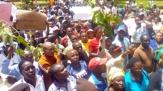 NYERI-TRADERS-PROTEST