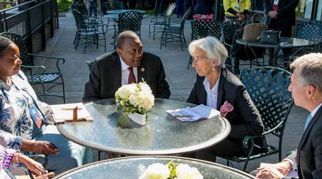President Kenyatta woos world's richest nations in Canada