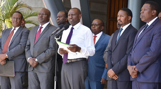 Image result for ruto and devolution ministry