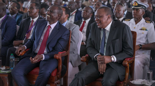 UHURU RUTO KIRINYAGA DEVOLU - 'Report me to DCI', President Kenyatta tells those linking him to graft