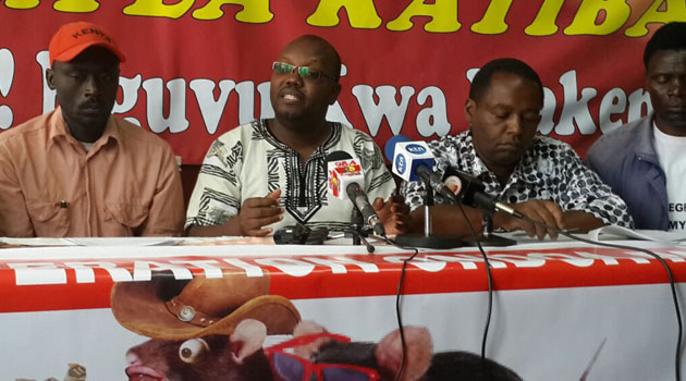 MORRIS ODHIAMBO - Civil Society Organisations vow to support anti-graft fight