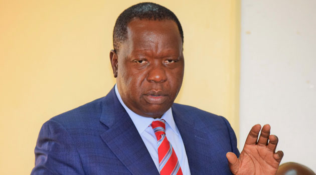 CS MATIANGI FRED - 12-member committee formed over insecurity in North Rift