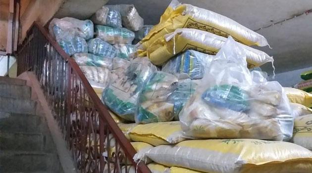 EXPIRED RICE KARIOBANGI - DCI officers seize tonnes of expired rice in Kariobangi