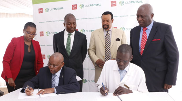 MAMA LUCY HOPSITAL UAP QMS - Mama Lucy Kibaki Hospital to install Sh5mn Queue Management System in pact with UAP