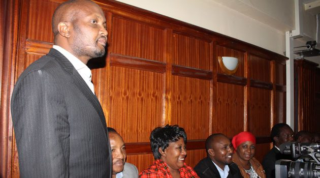 Third time lucky for Kuria, as court dismisses 'Wembe ni ule ule' incitement case