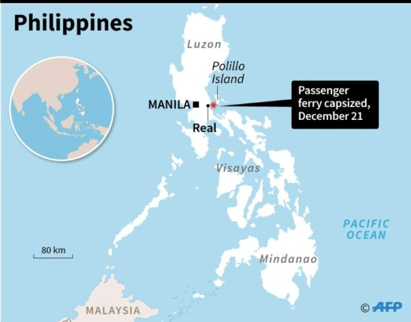 Scores missing as ferry capsizes off Philippines » Capital News