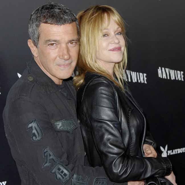 Melanie Griffith And Antonio Banderas 2013