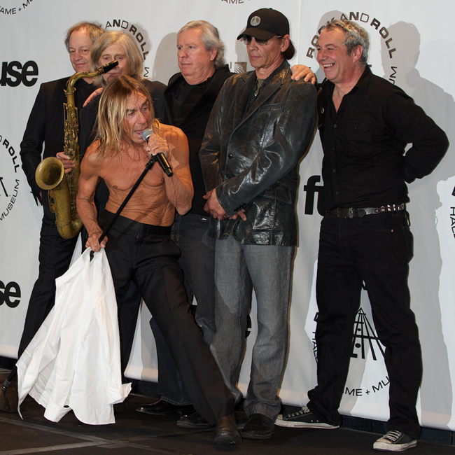 The 2010 Rock And Roll Hall Of Fame Induction Ceremony At The Waldorf Astoria In New York City