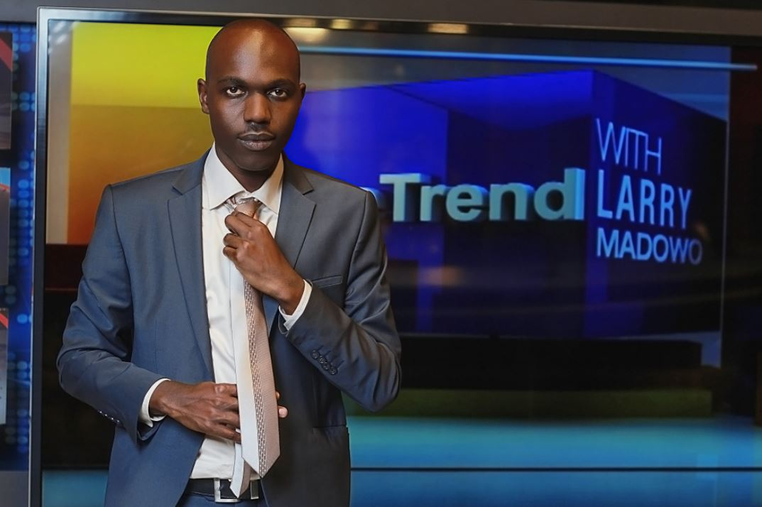 Larry Madowo of NTV Kenya