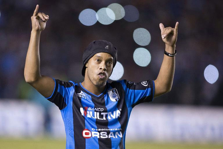 Former world player of the year Ronaldinho. PHOTO/File