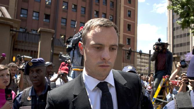 Oscar Pistorius, pictured on his day of sentencing is due for an August 21 release for good conduct.