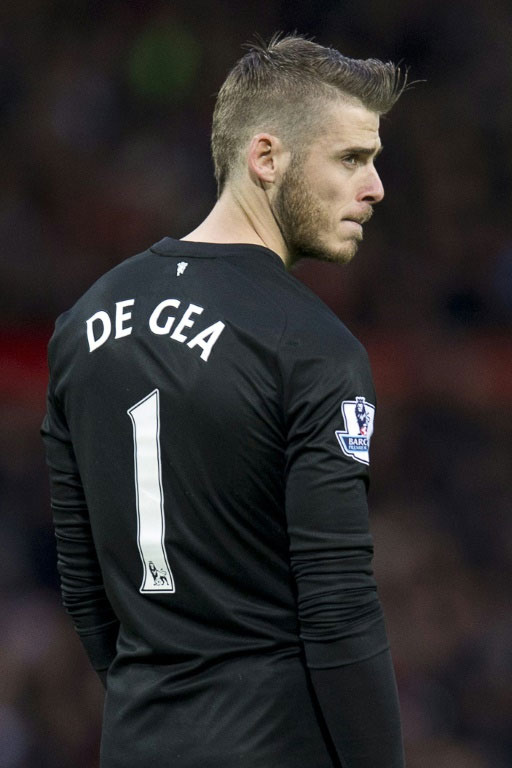 Goalkeeper David de Gea hasn't featured in any of United's six games so far this season with manager Louis van Gaal claiming he wasn't focused at the English giants due to Real Madrid's interest. PHOTO/AFP