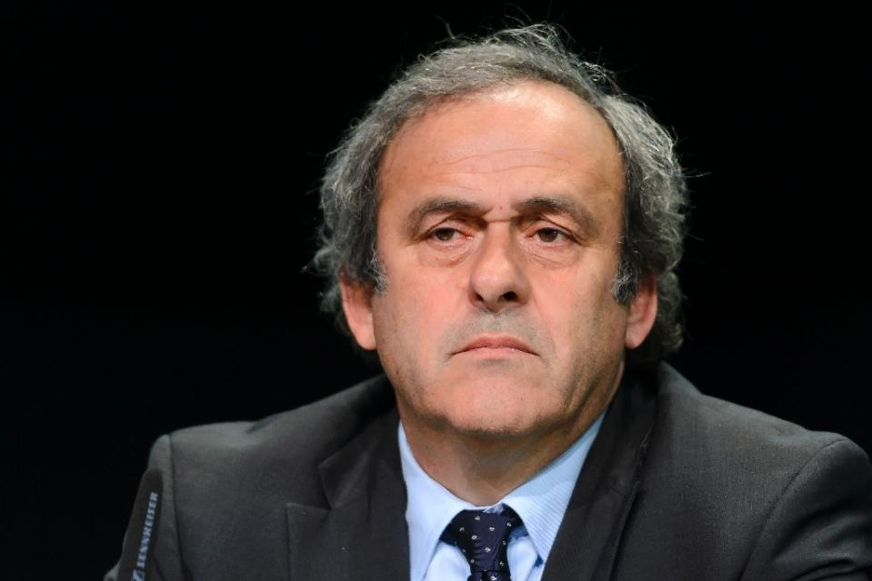 UEFA boss, Michel Platini. PHOTO/File