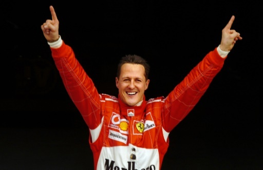 Michael Schumacher. PHOTO/File