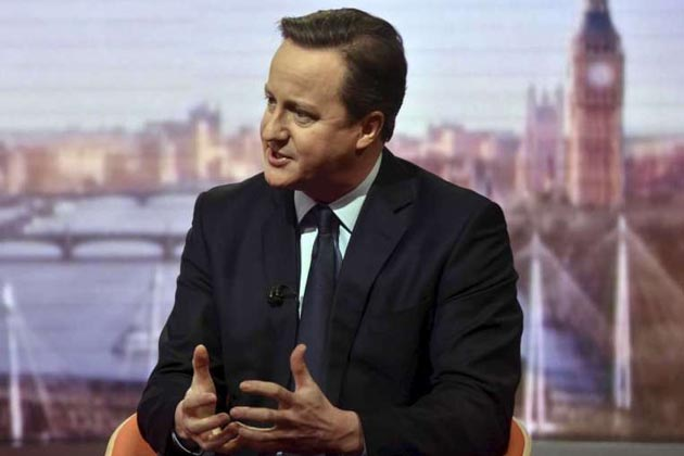 British Prime Minister David Cameron wants the allegations of match-fixing in tennis investigated fully. PHOTO: REUTERS