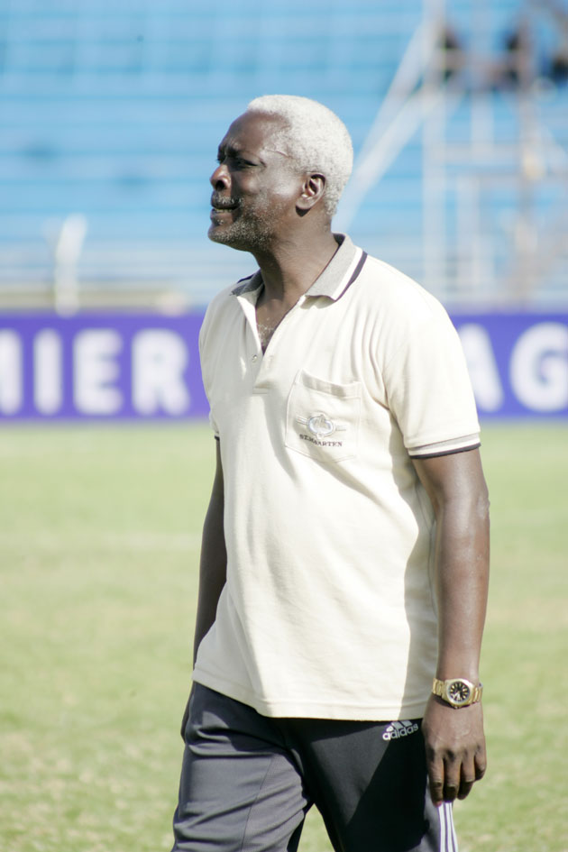 City Stars head coach John 'Bobby' Ogolla. PHOTO/Raymonf Makhaya.