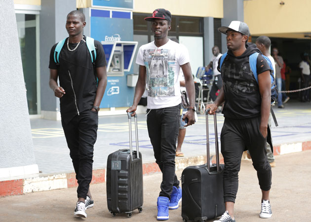 Harambee Stars players who plies their trade for Zambia's Zesco United arrive on Tuesday morning to link up with the rest of the squad ahead of 2017 AFCON Qualifier against Guinea Bissau.