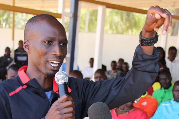 The race to beat the extended compliance deadline set by the World Anti Doping Agency took a new twist when Cherangany MP and former Boston Marathon winner Wesley Korir presented an Anti-Doping Draft Bill to the National Assembly's Labour and Social Welfare Committee. PHOTO/Courtesy