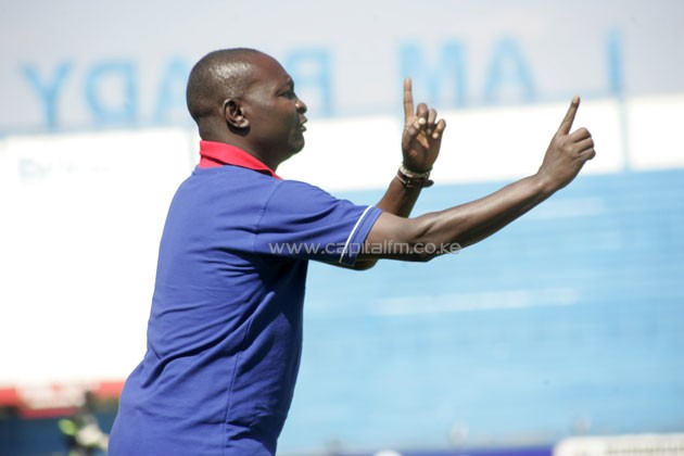 Posta Rangers head coach Zedekiah 'Zico' Otieno.PHOTO/ FILE.