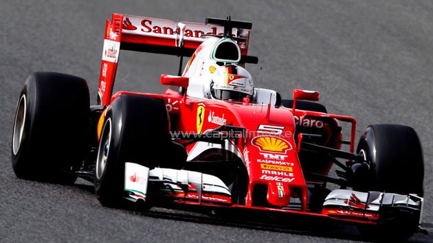 Sebastian Vettel and Kimi Raikkonen could use the improved engine next weekend in Sochi meaning a third power unit for Vettel already this season/PHOTO- Sky Sports