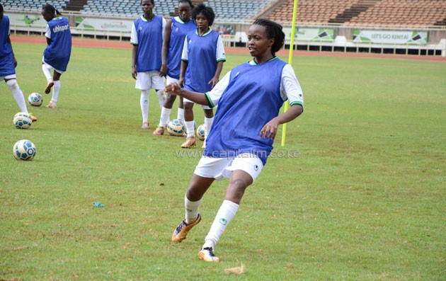Harambee Starlet midfielder Cherish Avillia.PHOTO/Timothy Olobulu