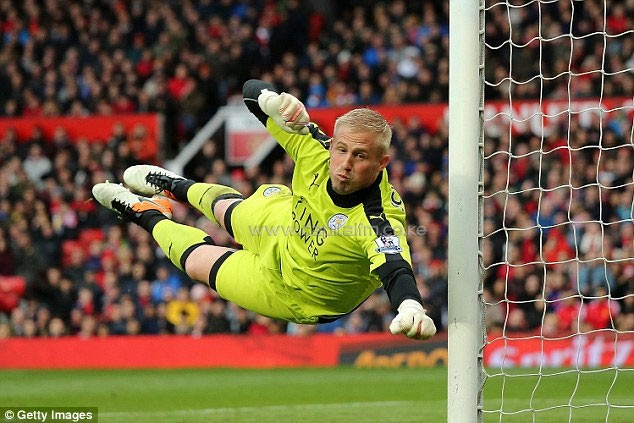 Leicester keeper Kasper Schmeichel has followed in his father's footsteps in winning the Premier League title.