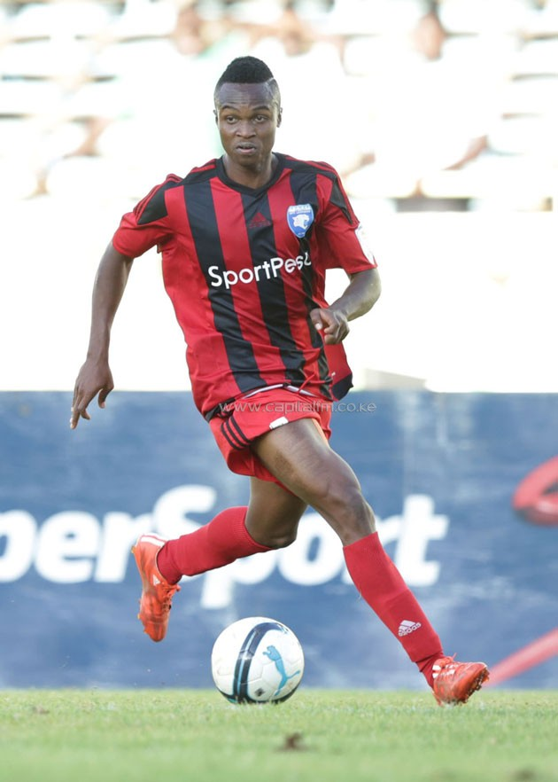 AFC Leopards and Harambee Stars winger Clifton Miheso.PHOTO/courtesy.