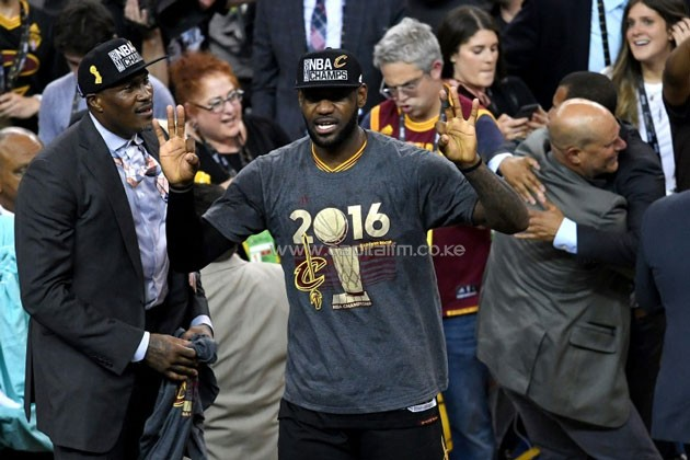 LeBron James and the Cleveland Cavaliers celebrate the greatest comeback in NBA Finals history after dethroning defending champion Golden State 93-89 to capture their first NBA title.