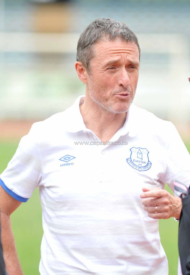 Everton CEO Robert Elstone believes new manager Ronald Kouman will inspire them to Champions League.Photo/Raymond Makhaya.