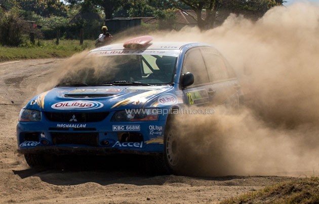 The weekend rally makes up the fourth round of the eight-leg 2016 Kenya National Rally Championship (KNRC).