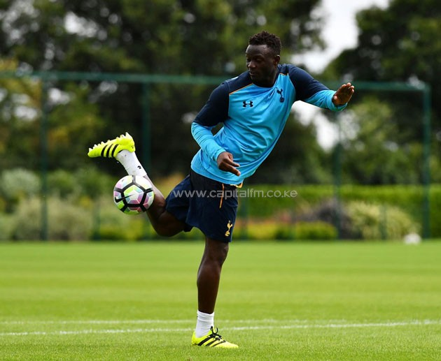 It's so far so good for Victor Wanyama in his early days at Spurs. PHOTO/Tottenham Hotspur.