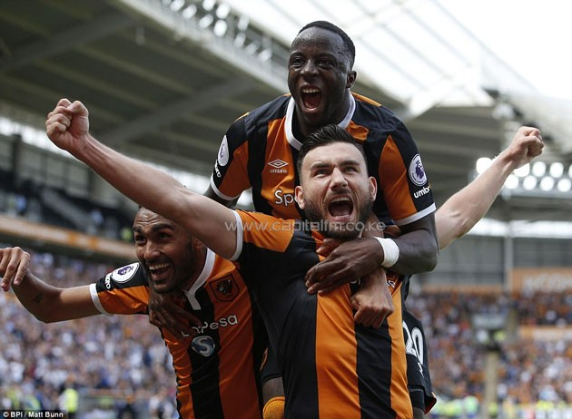 Robert Snodgrass ensured the Premier League champions started the new campaign with a shock defeat.PHOTO/courtesy