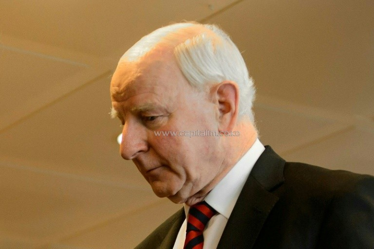 Europe's International Olympic Committee chief Patrick Joseph Hickey was arrested in Rio de Janeiro over an alleged international Olympic ticket sales scam, police said. PHOTO/AFP.