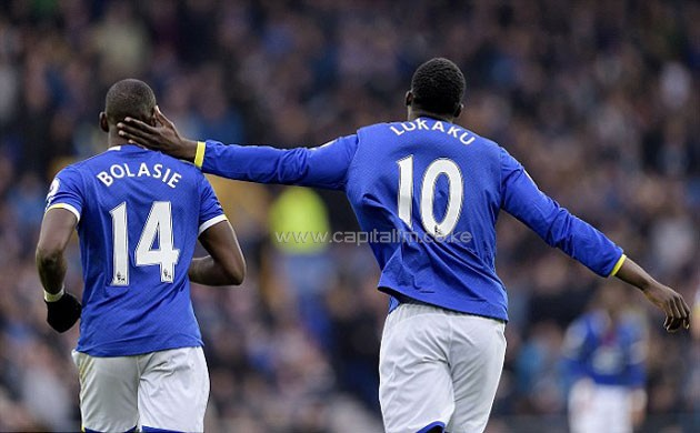 Lukaku and Bolasie have formed a formidable strike partnership using Lingala to communicate. PHOTO/Daily Mail
