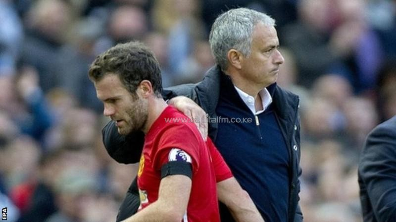 Juan Mata (left) was sold by Chelsea in 2014 when Jose Mourinho (right) was in charge of the club. PHOTO/BBC.