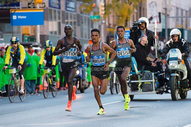 Flanagan, Kamworor win in New York Marathon