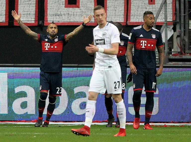 Eintracht Frankfurt 0-1 Bayern Munich