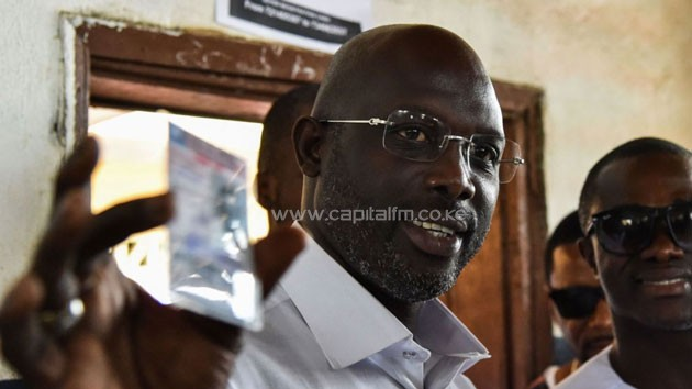 George Weah wins Liberian presidency